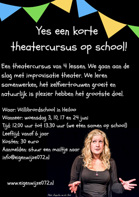 Willibrordschool flyer theater