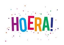Afbeeldingsresultaat voor Hoera